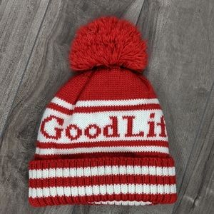 Other - Good Life Fitness Red White Toque